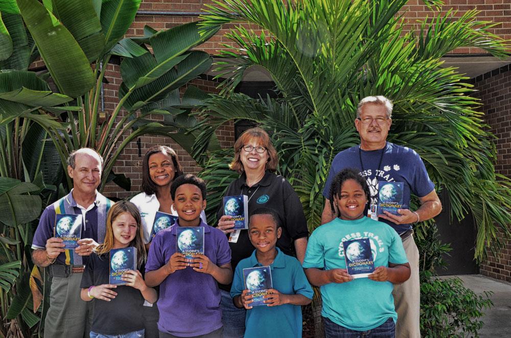 Cypress Trails Nov Rotarians Pass Dictionaries